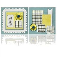 Scrapbooking Crafts Quick Quotes Page Kit 2 12X12 Sheets Hold Fast Memories Past