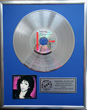 "Jennifer Rush the power of CD/Cover gerahmt +12"" Deko goldene Vinyl Schallplatte"