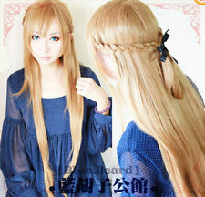 New Sword Domain Of God, Asuna /Coplay Stereotypes Wig + Gift Cap