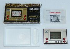 NINTENDO GAME & WATCH - MANHOLE - Gold Series 1981- MH 06 - BOXED -