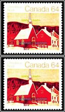 2x CANADA 1983 CANADIAN CHRISTMAS NOEL MINT FV FACE $1.28 MNH STAMP LOT