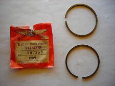 segmenti fasce elastiche PISTONE VESPA 58,7 25 APE Piston Rings Set