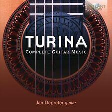 JAN DEPRETER - COMPLETE GUITAR MUSIC  CD NEU JOAQUIN TURINA
