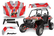 AMR Racing Polaris RZR 900XP Sticker Graphic Kit Decal UTV Parts 11-14 TBOMBER R