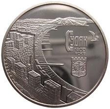 """Ucrania 5 hryvni -"""" 1800 años ciudad Sudak"""" - 2012 (UNC)"""