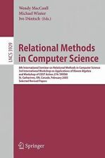Relational Methods in Computer Science: 8th International Seminar on Relational