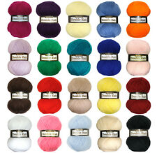 MARRINER YARNS DOUBLE KNIT BUMPER PACK - 20 x 100g BALLS - VARIOUS COLOURS