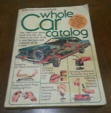 Whole Car Catalog by Consumer Guide Editors (1978, Paperback)