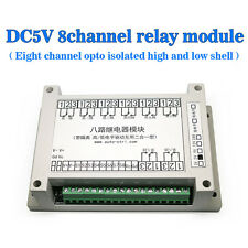 DC5V 8-channel Relay Module Eight Opto-isolated High and Low Shelled