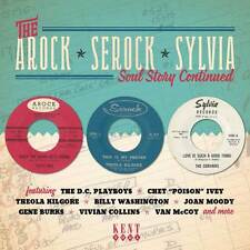 "THE AROCK - SEROCK - SYLVIA SOUL STORY CONTINUED  ""25 TRACKS RECORDED 1962-1966"""