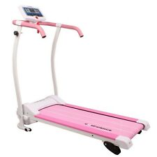 CONFIDENCE POWER TRAC 735W MOTORISED ELECTRIC TREADMILL RUNNING MACHINE PINK