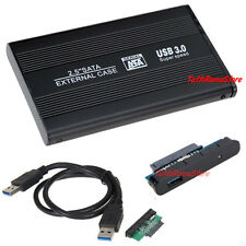 "BOX USB 3.0 PER HARD DISK SATA 2,5"" CASE HD DRIVE ESTERNO HDD DISCO PORTATILE PC"
