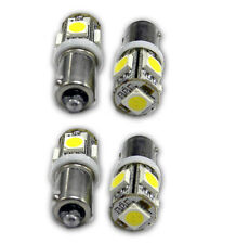 10 Pcs BA9S T4W T6W T11 Canbus 5050 3 SMD LED White Interior Dome Map Car Light