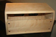 Boogie style pine head cabinet for mark I and mark IIA , Project D.I.Y.
