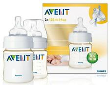 Avent 4oz/125ml Extra Durable Feeding Baby Bottle (2 Pack)