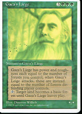 MAGIC THE GATHERING 4TH EDITION GREEN GAEA'S LIEGE