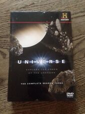 The Universe: The Complete TV Season 3 dvd 2009, 4-Disc Set Sealed NEW