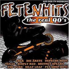Fetenhits-The real 90s Ärzte, Cure, Toten Hosen, US 3.. [2 CD]