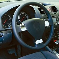 Für VW Golf 5 Plus Passat B6 3C Jetta 3 Chrom Lenkrad Abdeckung Blenden Einsatz