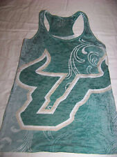Blue 84 Women's USF University of South Florida Bulls Racerback Burn Out Tank