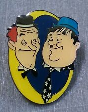 LAUREL AND HARDY LAPEL PIN