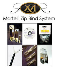 Martelli Zip Bind System Set Clips Miters Guns Sewing Quilting 8092A