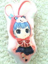 NEW  Vocaloid Hatsune Miku rabbit costume pillow cushion Authentic Japan cleaner