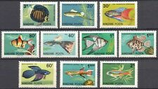 Hungary 1962 Tropical Fish/Ornamental/Aquaria/Discus/Tetra/Nature 10v set n39864