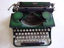 Vintage 1930's Royal Typewriter - Green