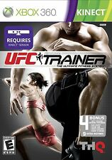 UFC Personal Trainer Ultimate Fitness System XBOX 360 KINECT! WORKOUT, MARTIAL