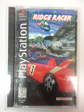 Ridge Racer  Playstation 1 PS1 Longbox complete