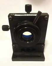 Newport LP-1-XYZ 3-Axis Multi-Axis Lens Positioner Stage Mount with bracket Used