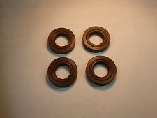 NEW Triumph Thruxton 900 EFi Cam Cover Bolt Seals (Set of 4) - Later Brown Type