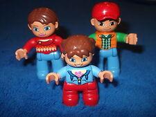 LEGO DUPLO VILLE FAMILIE MAMA PAPA MÄDCHEN aus 10584 FIGUR MÄNNCHEN NEU