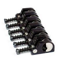 Babicz Full Contact Hardware T-Swivel Strat Saddle Set - Black