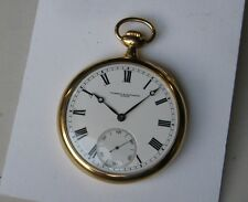 VACHERON CONSTANTIN 18K SOLID GOLD 53MM VINTAGE RARE POCKET WATCH