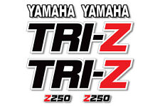AMR Racing Yamaha Tri Z 250 Graphic Kit OEM Three Wheel Racer Decals ATV 85-86