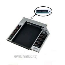 2ND SATA HARD DRIVE SLIM 9.5MM CADDY FOR HP ACER ASUS IBM TOSHIBA DELL LAPTOP