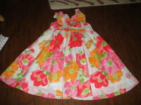 JANIE AND JACK 2T GORGEOUS FLORAL DRESS 2012 '12 LINE