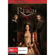 REIGN-Season 1-Region 4-New AND Sealed-5 Disc Set-TV Series