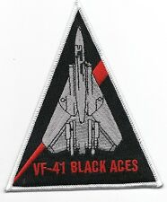 "US Navy F-14 Tomcat VF-41 ""Black Aces""  Triangle patch"