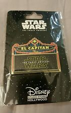 Disney DSF Star Wars The Force Awakens El Capitan Theater Marquee Pin LE 500