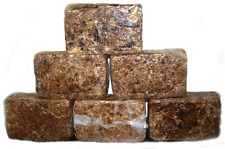 Organic African Raw Black Soap, 5 lb.