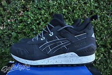 ASICS GEL LYTE MT SZ 12 BLACK GREY REFLECTIVE H6K1L 9090