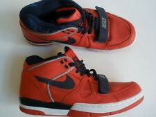 SUPER 2004 Nike Air Alpha Force RED LEATHER SHOE US 8.5 EUR 42 NEW