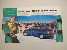 advertising Pubblicità 1998 FIAT PALIO WEEKEND