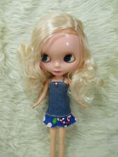 Big Head Blythe Clone 4 Color Changing Eyes Basaak Doll - blonde hair
