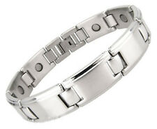 Magnetic Stainless Steel Bracelet 8-Inch Long