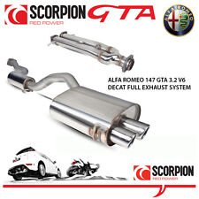 Alfa Romeo 147 GTA 3.2 V6 Scorpion DECAT Performance Stainless Steel Exhaust