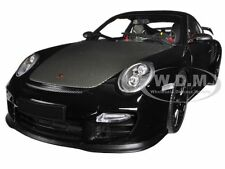 2011 PORSCHE 911 (997 II) GT2 RS BLACK W/ BLACK WHEELS 1/18 MINICHAMPS 100069404
